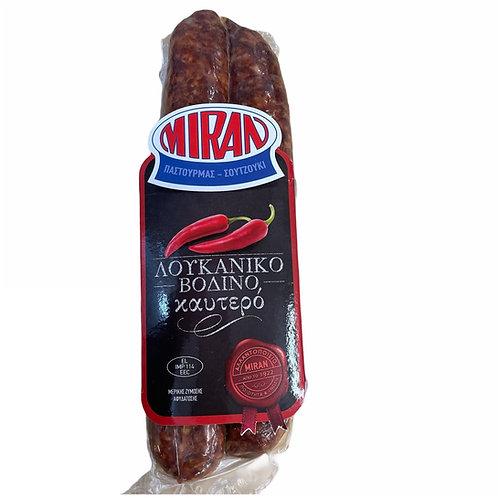 Miran Sausage Beef Spicy - kg