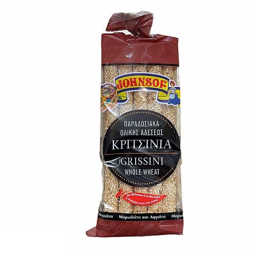 Johnsof CY Whole Wheat Long Grissini - 200gr