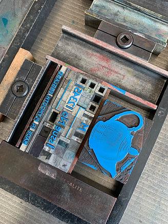 Letterpress typography
