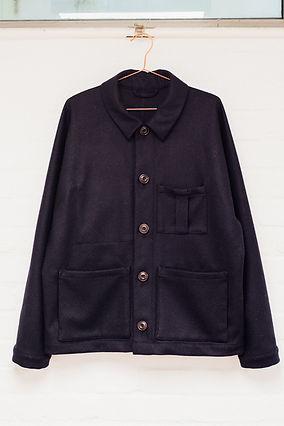 Stonehouse Union British wool navy jacket