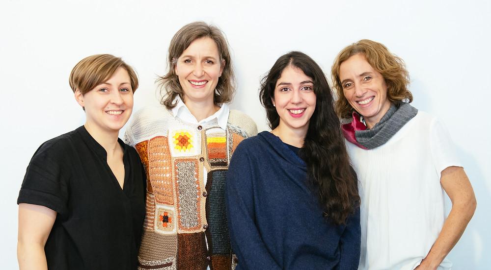 Ursula Lidy, Dörte Kaufmann, Adiba Mahmoud, Sandra Gilles