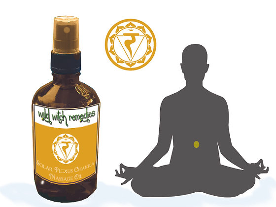 Solar Plexus Chakra Massage Oil