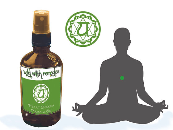 Heart Chakra Massage Oil