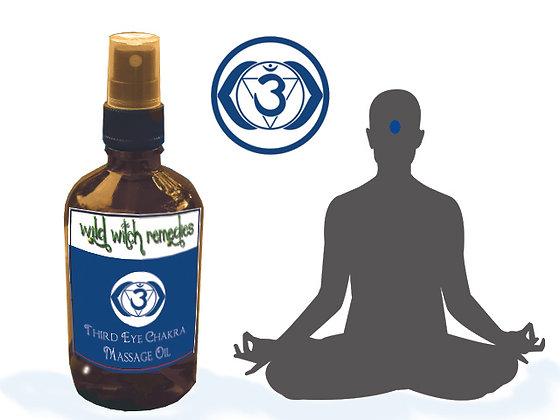 Third Eye Chakra Massage Oil