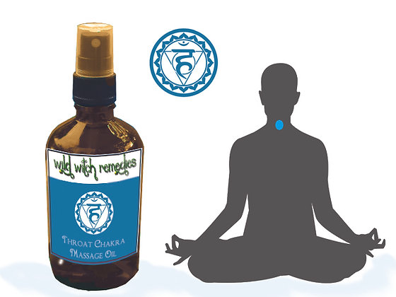Throat Chakra Massage Oil