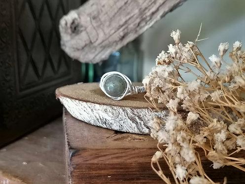Bague ~Arwen~ Labradorite Silver Filled