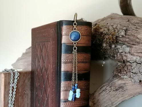 Marque Pages ~Mahonia~ Lapis Lazuli