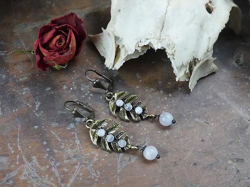 Boucles d'oreilles ~Servilia~ Péristérite