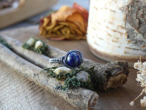 Bague ~Arwen~ Lapis Lazuli