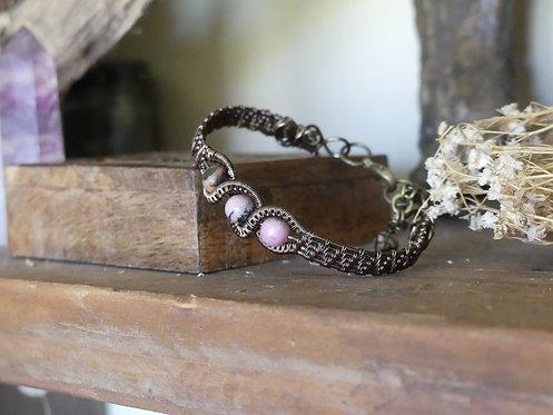 Bracelet ~Astral~ Rhodonite