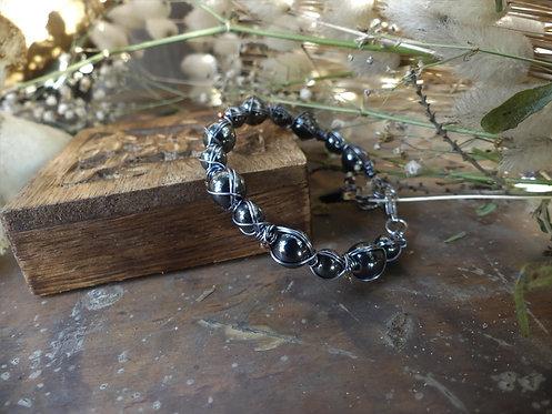 Bracelet ~Sybaris~ Hématite