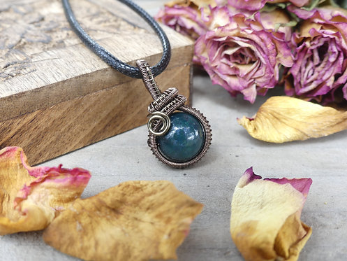 Collier ~Lind~ Agate Mousse