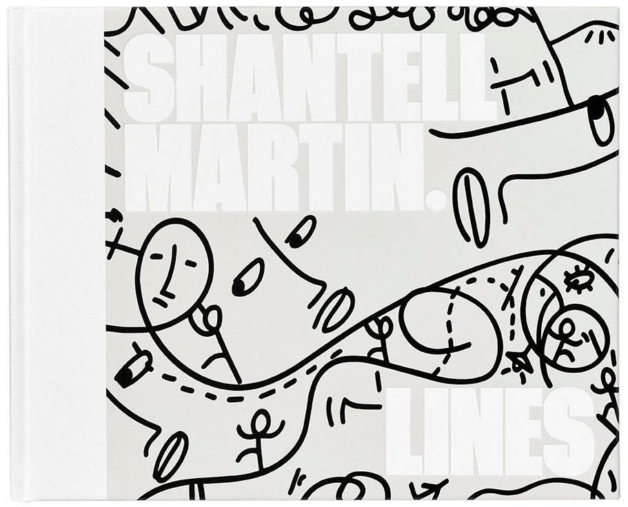 LINES book cover standard edition by Shantell Martin