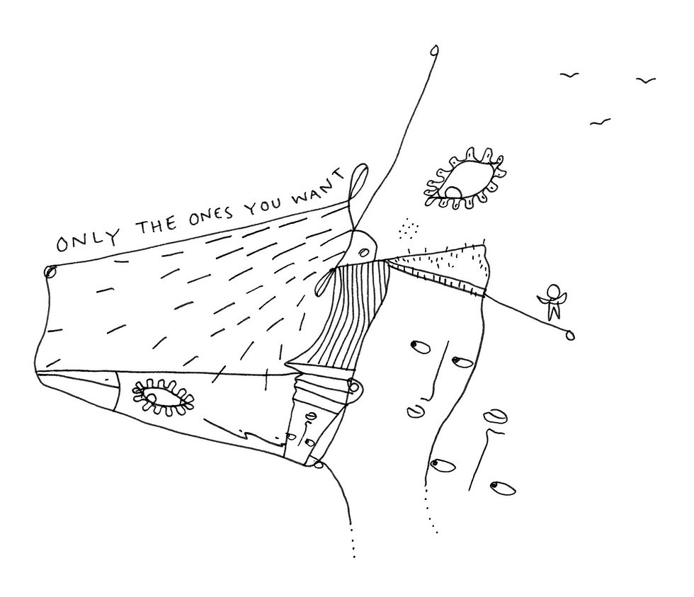 Illustartion by Shantell Martin