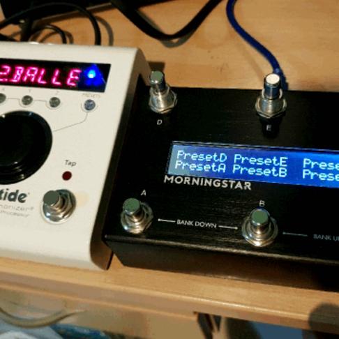 Eventide H9 & MC6 Midi Controller