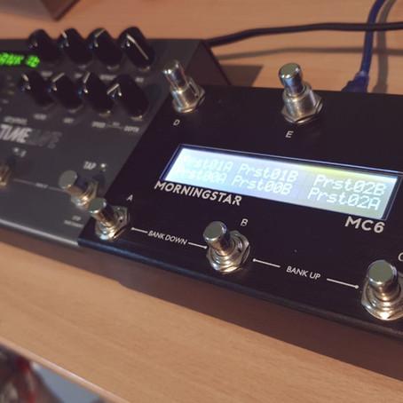 Strymon Timeline & MC6 Midi Controller