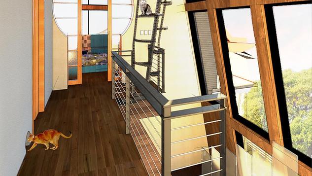 Cat's in the Birdhouse