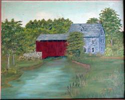 Old Mill & Bridge on Conestoga Creek