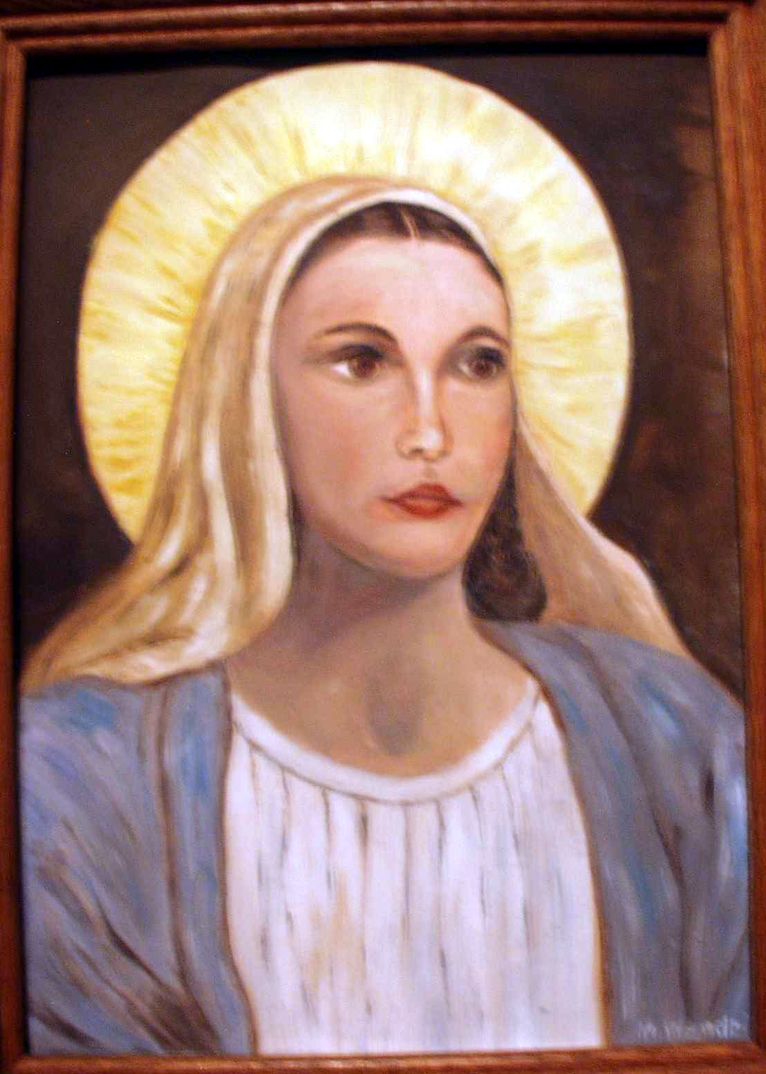 The Young Virgin Mary
