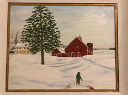 Snowbound A Vermont Farm