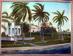 Swaying Palms on Palm Island