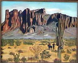 Superstition Mountain Arizona