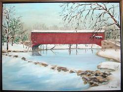 Eden Bridge in Winter