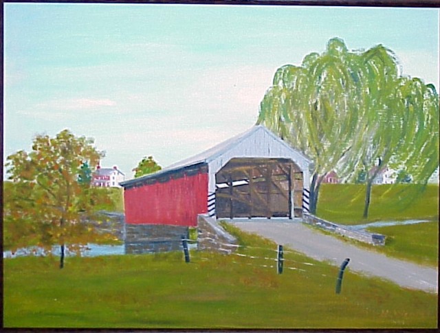 Covered Bridge near Adamstown