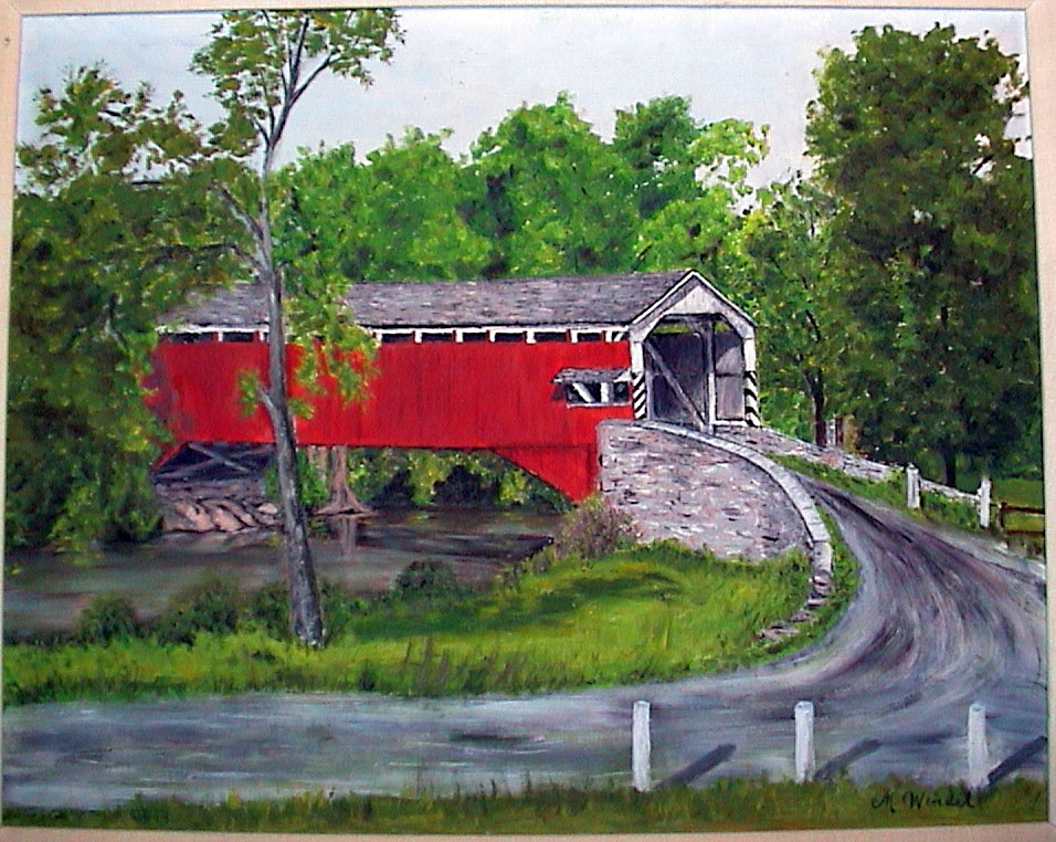 Covered Bridge, Eden PA