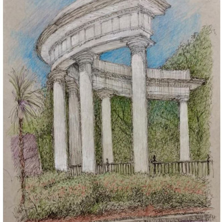 The Architect as Artist:  Sketches of NOLA Landmarks by Peter Fortier, AIA