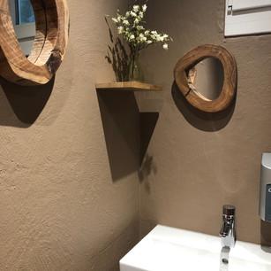 Umbau Toilette
