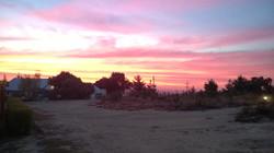 Sunset on Beulah Retreat