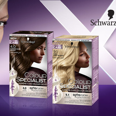 Schwarzkopf Advertizing