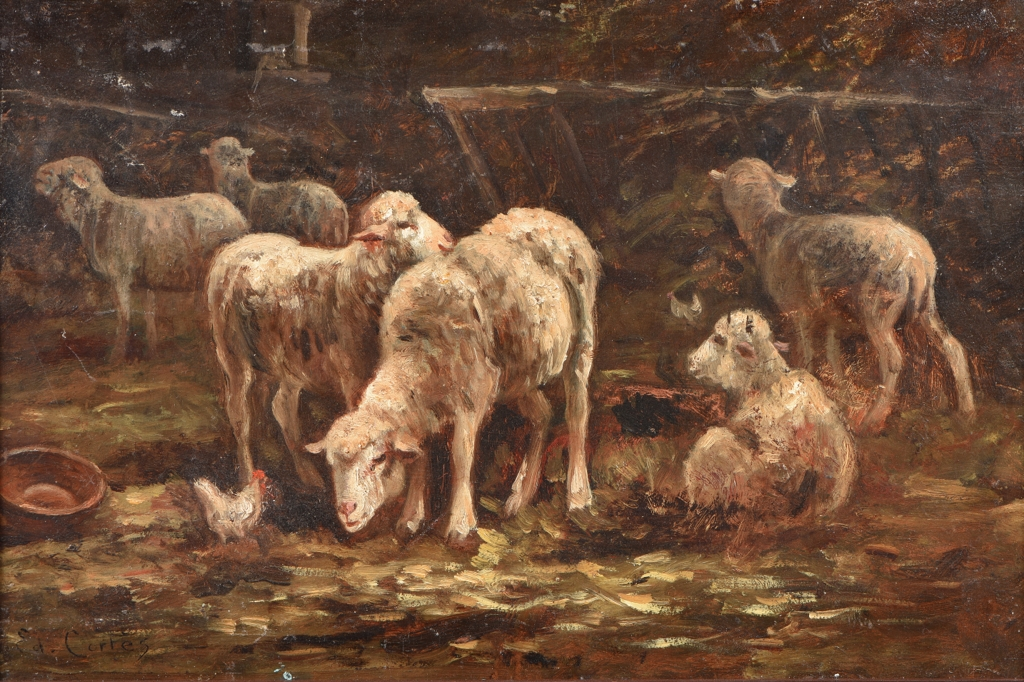 CORTES Edouard (1882 - 1969) attribu