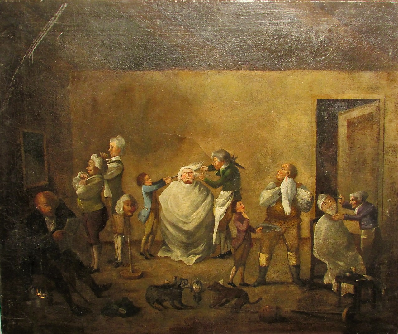 Ecole hollandaise du XIX, dans le go