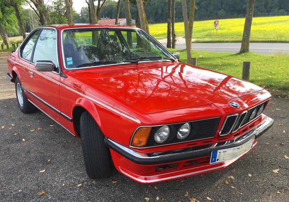 BMW 635 CSI 1988