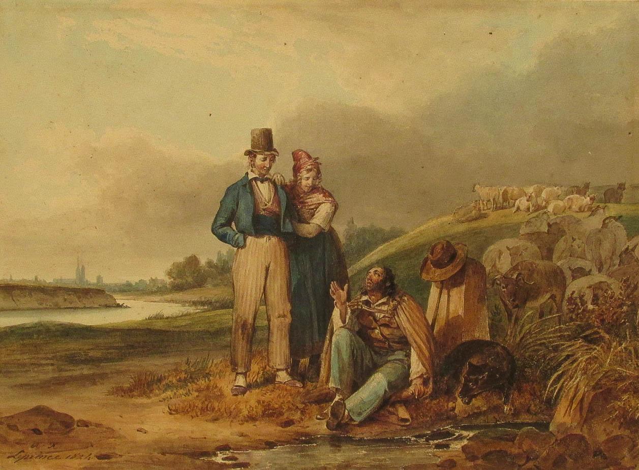 LEPRINCE Auguste Xavier (1799 - 1826