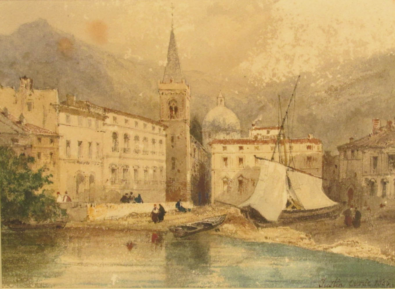 OUVRIE Justin Pierre (1806 - 1879)