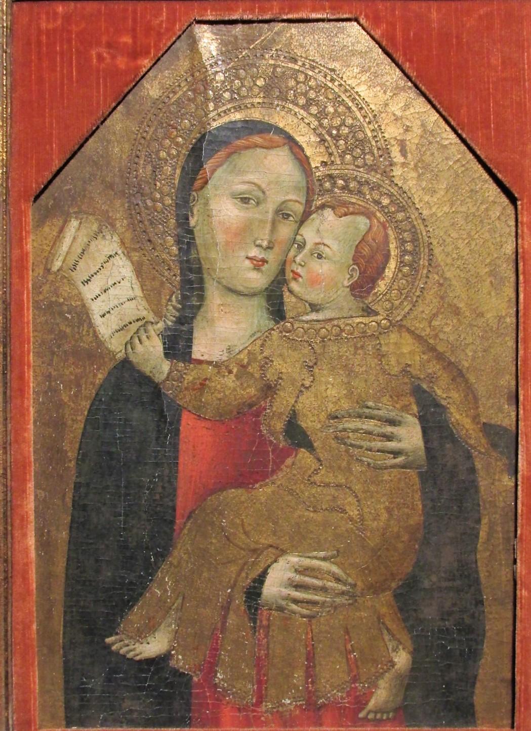 """""""Vierge à l'enfant"""""""