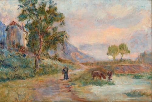 LEBOURG Albert (1849 - 1928)
