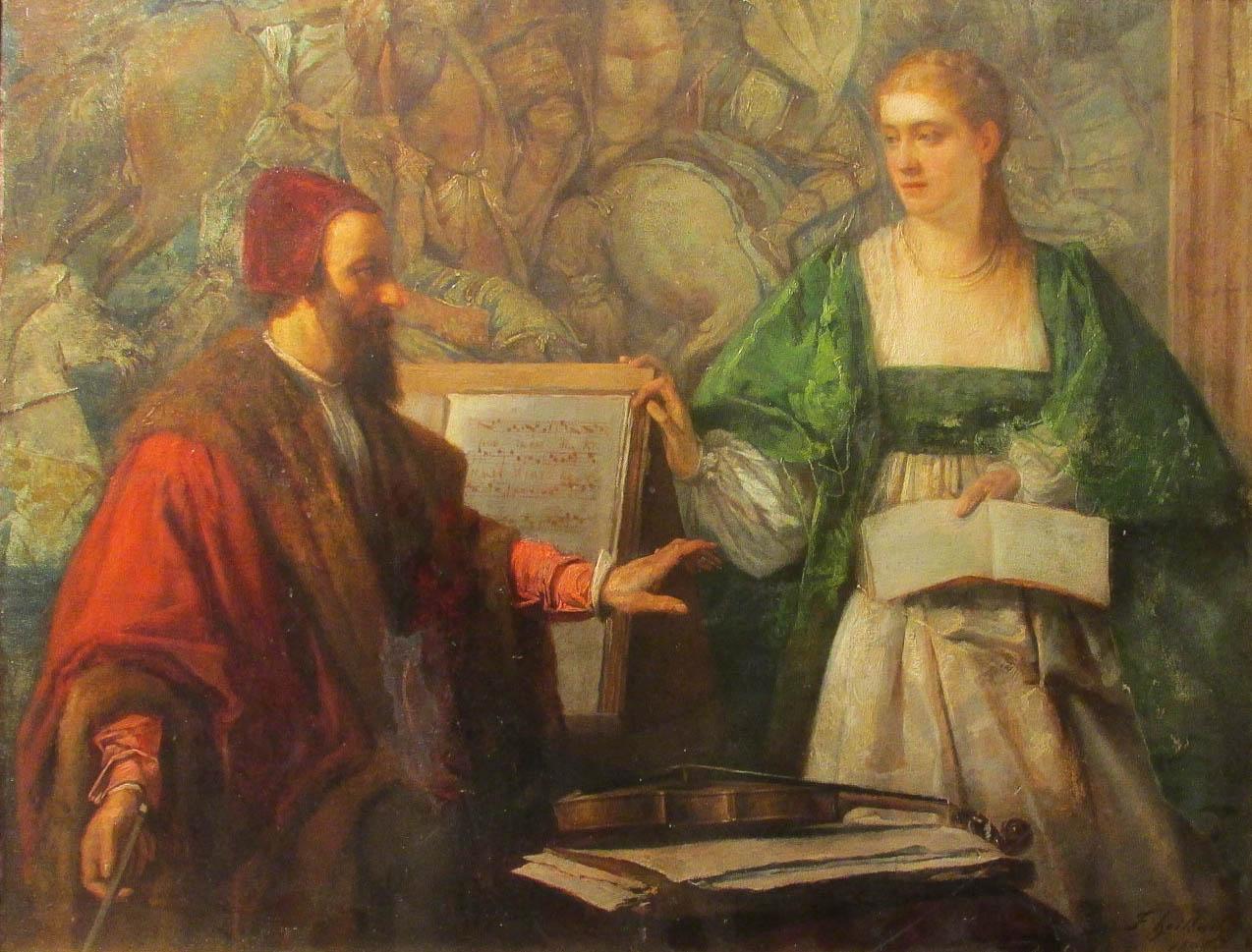 HEILBUTH Ferdinand (1826 - 1889)