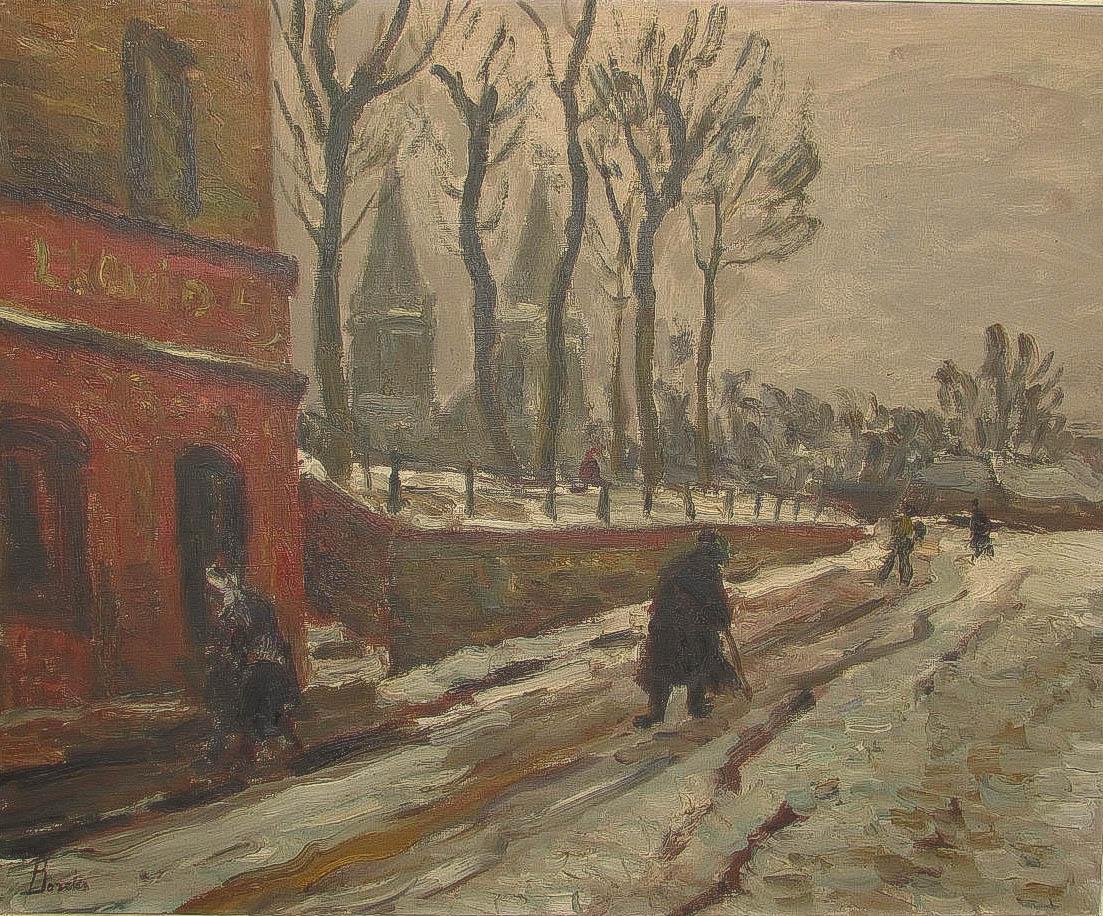 BORDES Léonard (1898 - 1969)