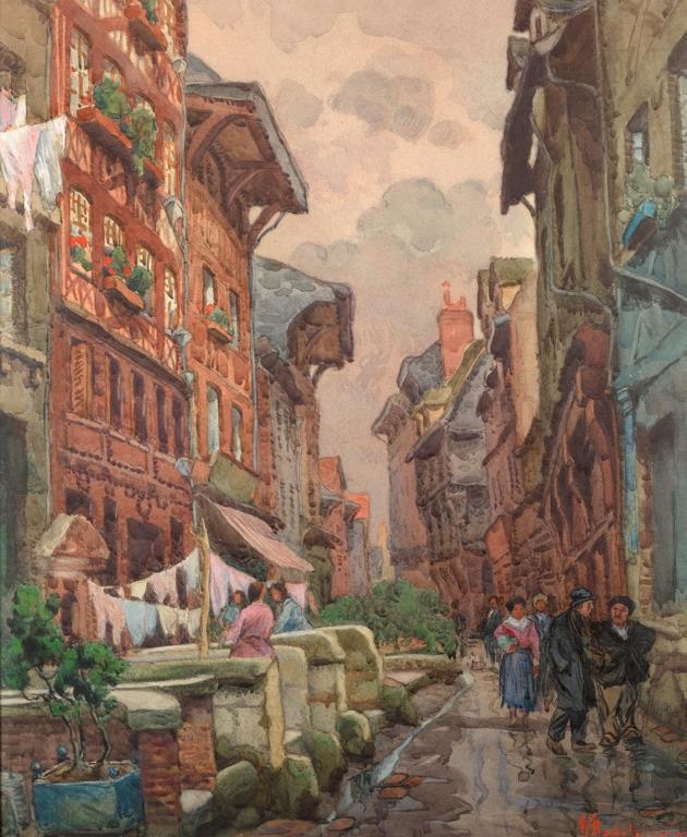 MADELAINE Hippolyte (1871 - 1966)