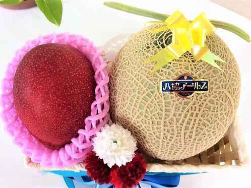 熊本県産マスクメロン&完熟マンゴー(税込み)