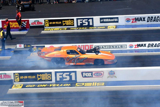 Ray Qualifies Fifth in NGK Spark Plugs NHRA 4-Wide