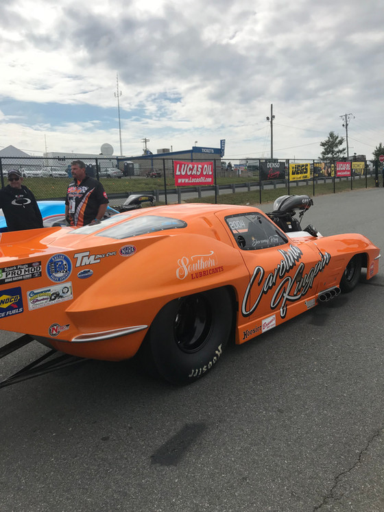 Ray Runs Third Quickest Pass in NHRA Pro Mod History in Charlotte