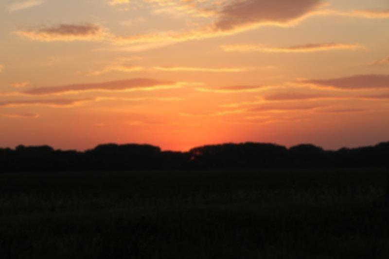 Reading Kansas Sunset