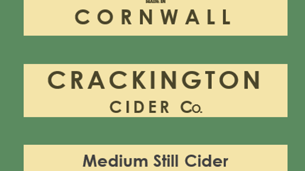 Award-winning Medium Still Cider case (12 x 500ml)