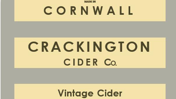 Case of Vintage Cider (6 X 750 ml)