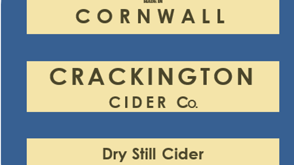 Award-winning Dry Still Cider case (12 x 500ml)